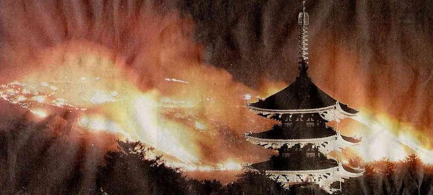 えぇっ?!東大寺は過去に2度も火事で燃え尽きて灰になっていた??
