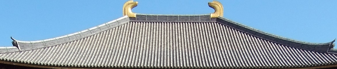 東大寺大仏殿の屋根の重さは、3020トンもある?! (2)