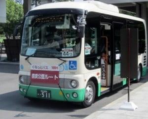 土日祝日に奈良東大寺へ来るのは、奈良市内をお得に循環する「ぐるっとバス」で!