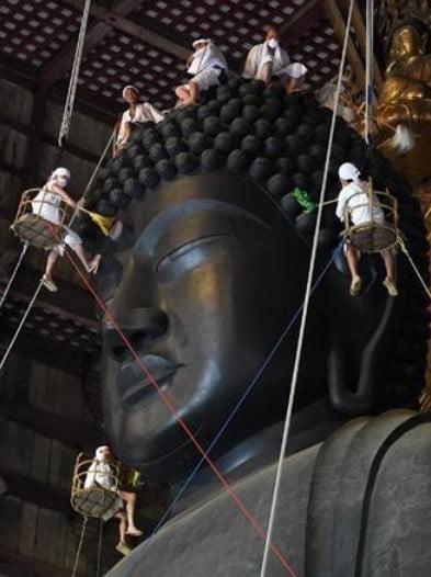 東大寺の大仏さんの螺髪の数の1000年経て新たな真実が浮上!