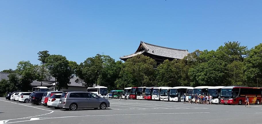「バス(大型バス)バイク」で利用したい!!奈良・東大寺(奈良公園)周辺・付近の駐車場の一覧