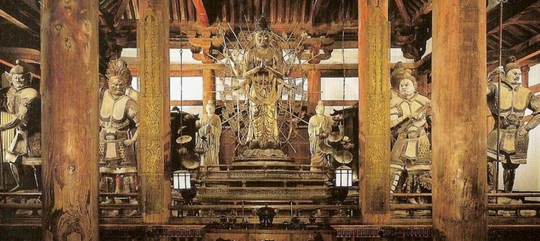 奈良 東大寺・法華堂(三月堂)「四天王立像」【国宝】