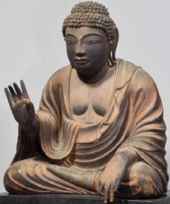 奈良 東大寺「木造 弥勒仏坐像(試みの大仏)」【国宝】 | 東大寺-御朱印